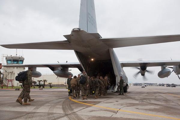 usmc airborne operations