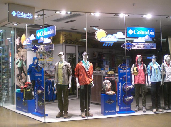 Columbia display