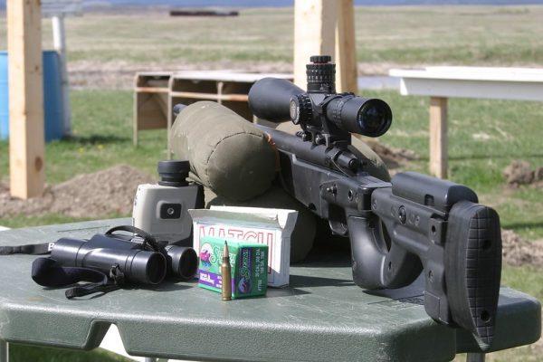 Nightforce scope on sniper