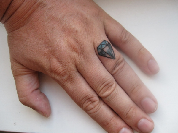 army ring tattoo