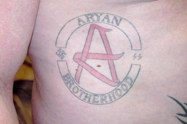 navy racist tattoo