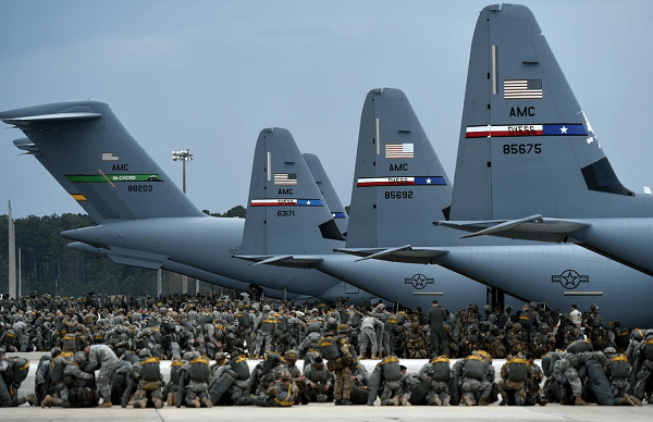 Air Force and Army Deploy Strategy