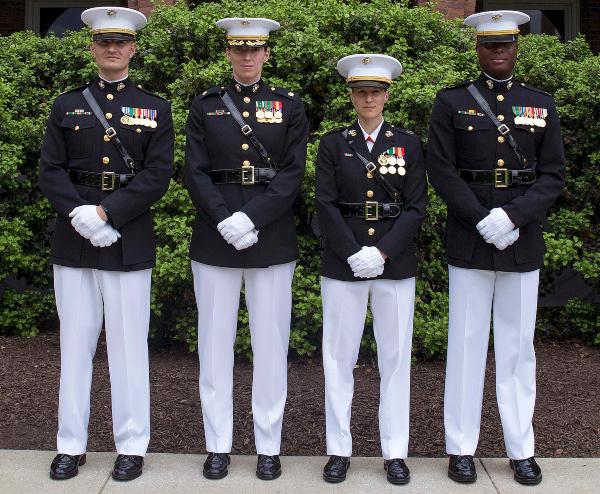 Marine Corps Boot Camp Graduation