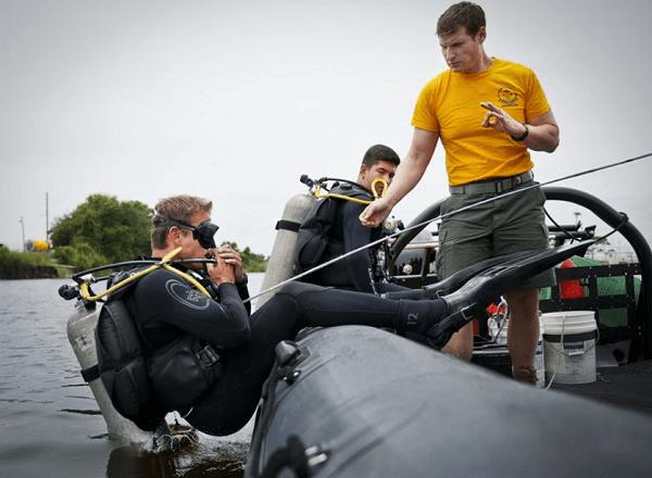 Navy Explosive Ordnance Disposal Student