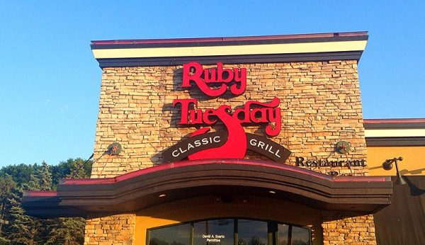 Ruby Tuesday Military Discount