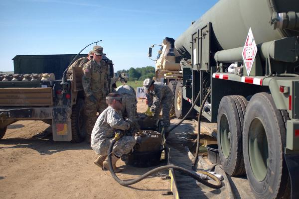 Army Petroleum Supply Specialist - MOS 92F