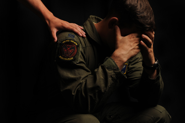 anxiety in the military