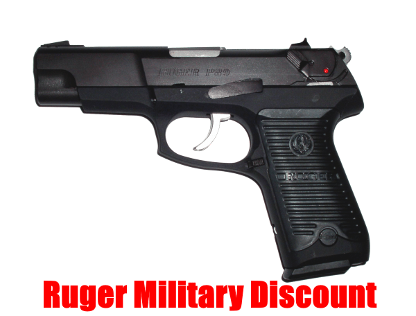 ruger military discount