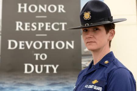 coast guard values