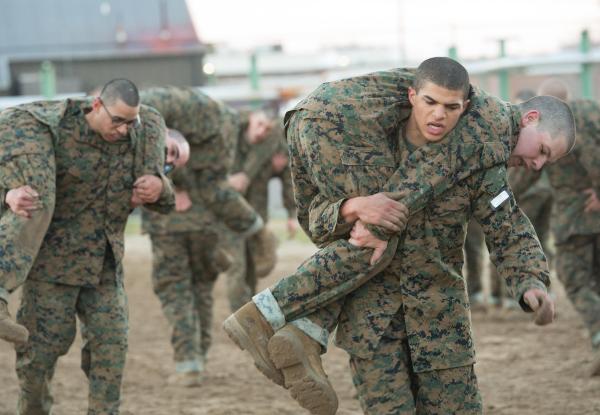 marine basic training