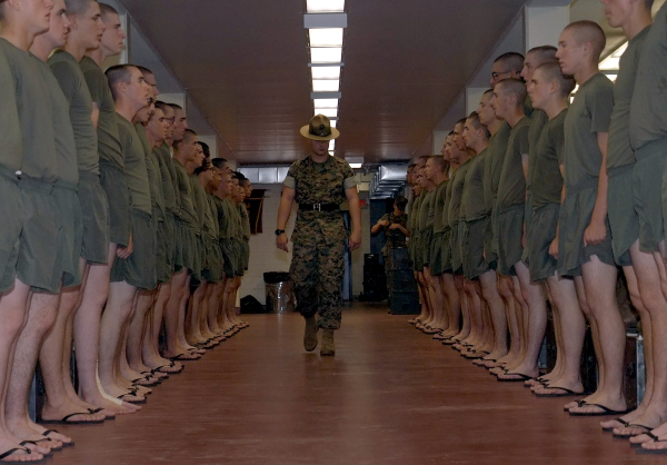 marine corps basic training