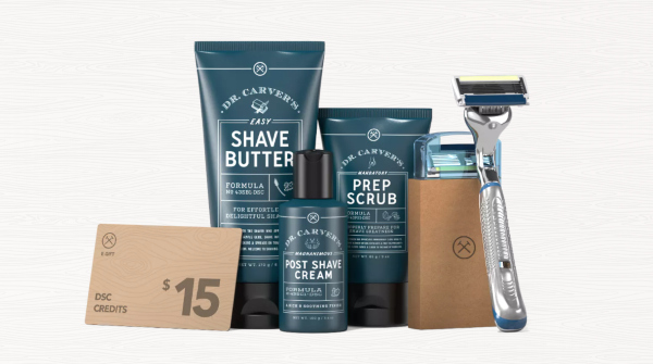 Dollar Shave Club Gift Set - marine graduation gift ideas