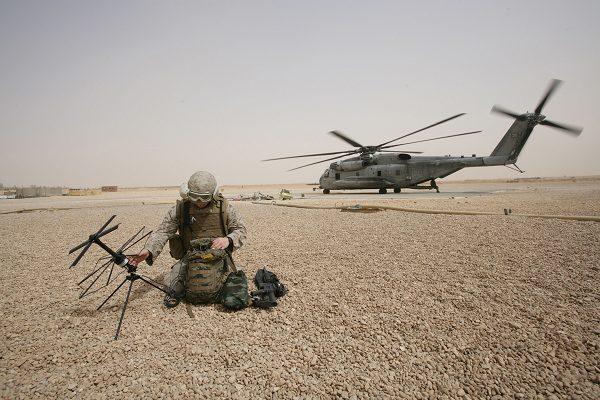 MOS 0621 Radio Operator sets up satellite communication