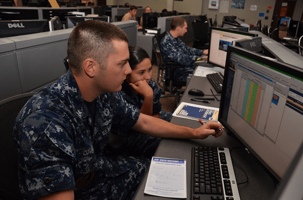 Navy CTN working with computer networks