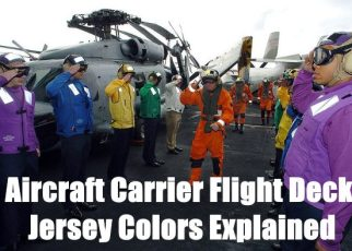 aircraft carrier flight deck jersey colors explained