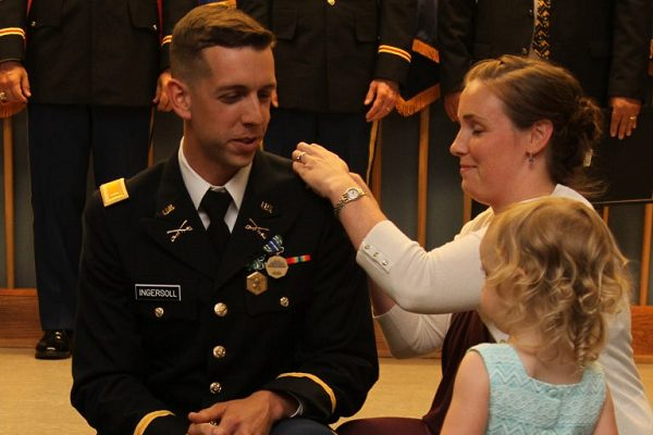 Army National Guard welcomes 14 new lieutenants to its ranks
