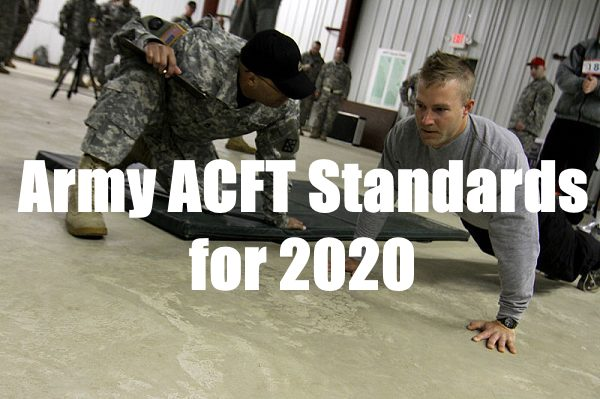 army acft standards