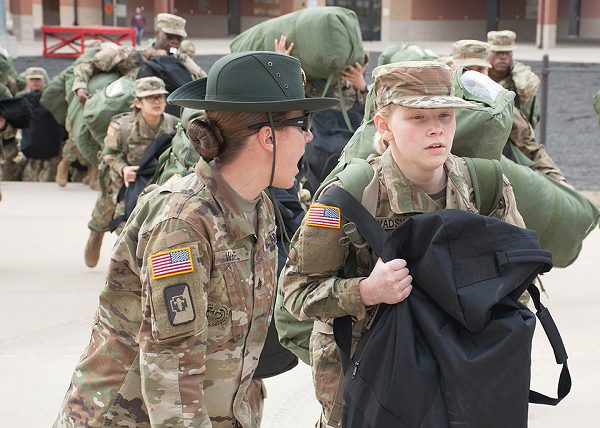 army basic training packing list