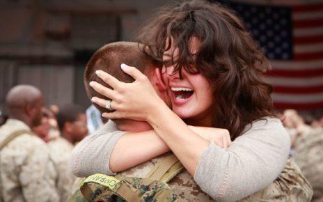Marines return from Afghanistan