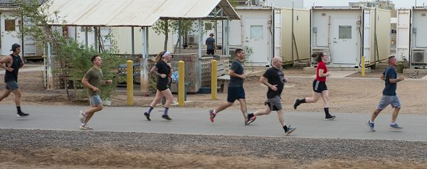 Running helps you prepare for navy boot camp