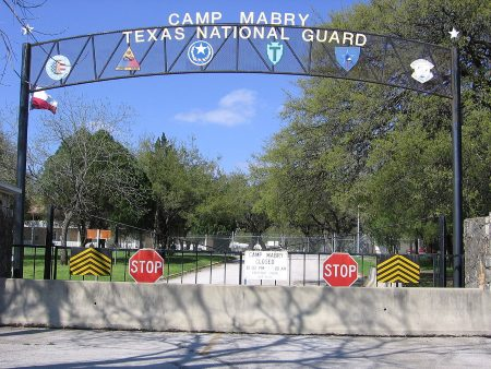camp mabry army base in texas