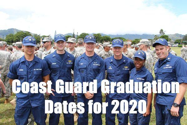 coast guard boot camp graduation