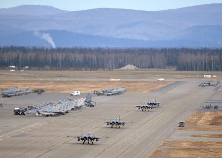 eielson air force base in alaska