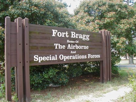 fort bragg army base in north carolina