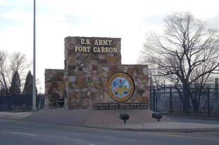 ft carson army base in colorado