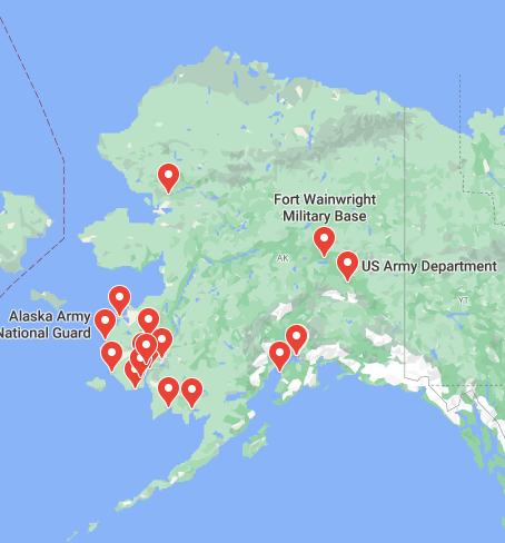 army bases in alaska