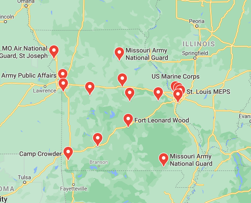 military bases in missouri