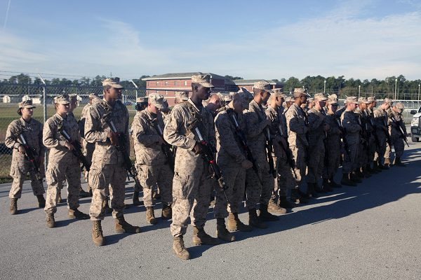 Marines Attend MCT