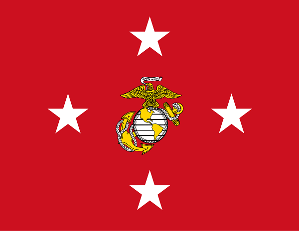 Flag of the Commandant of the Marines