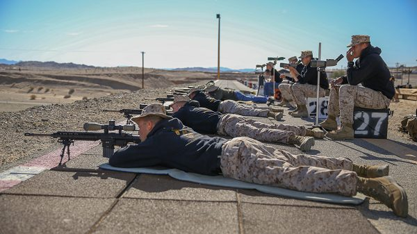 Marines learn the rifleman's creed while in boot camp