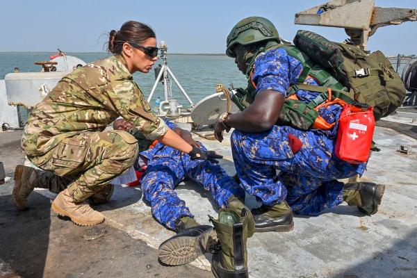 maritime security response team