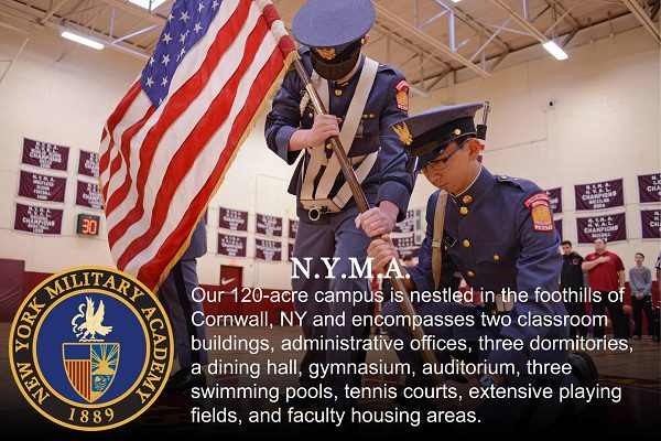 New York Military Academy is the oldest of military schools in New York