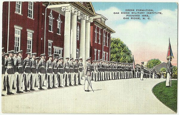 Oak Ridge Military Academy was founded in 1852