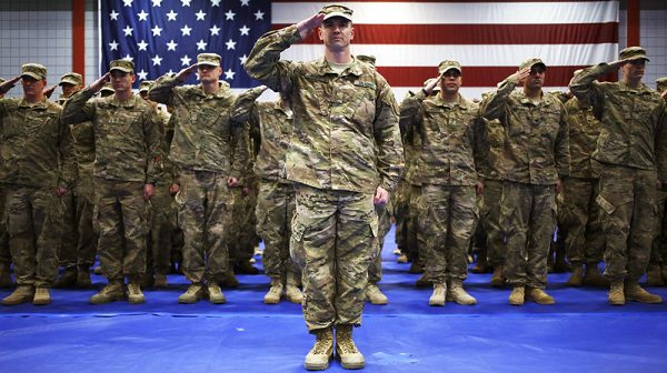The Army is considered ground forces between Navy vs. Army