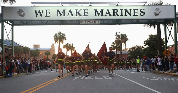 Transitioning from Civilian to Marine is what happens after marine boot camp