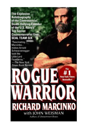 rogue warrior richard marcinko