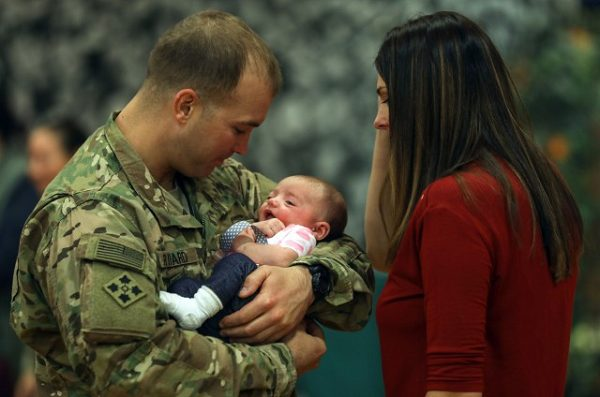 Joining the Army as a single parent is often difficult, but those already in the service have parental leave