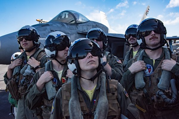 Navy Pilots have military pilot vision requirements