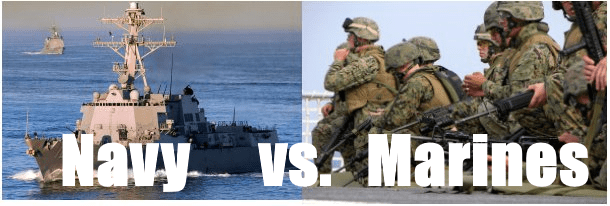 differences between navy and marine corps