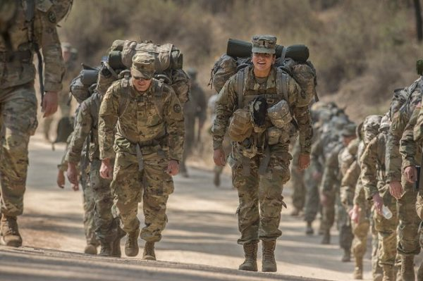 army is the 2nd hardest military branch