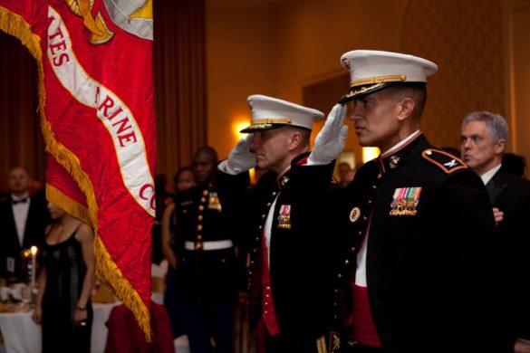 marine corps ball details