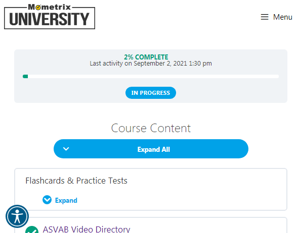 mometrix asvab study guide and course