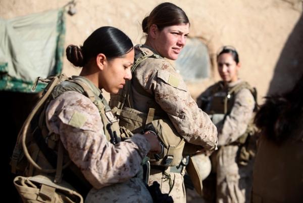 female marine jobs