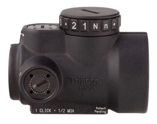 Trijicon 1x25mm MRO 2.0 MOA Adjustable Red Dot Sight