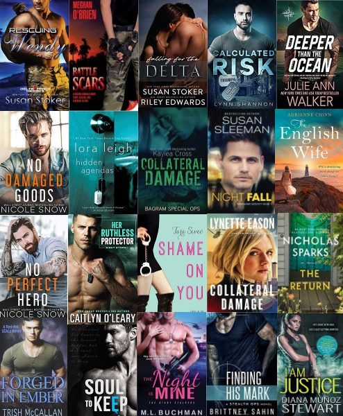 best military romance books and novels