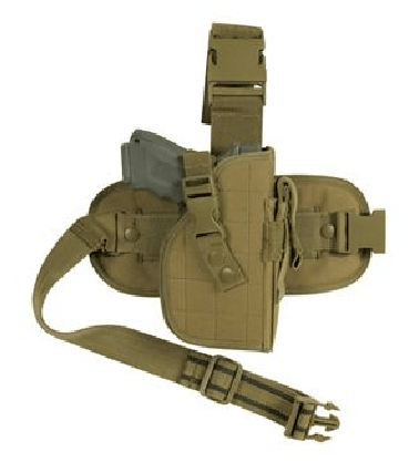 fox outdoor mission ready drop leg holster